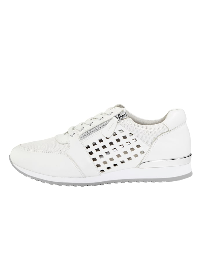 Trainers with cutout detailing