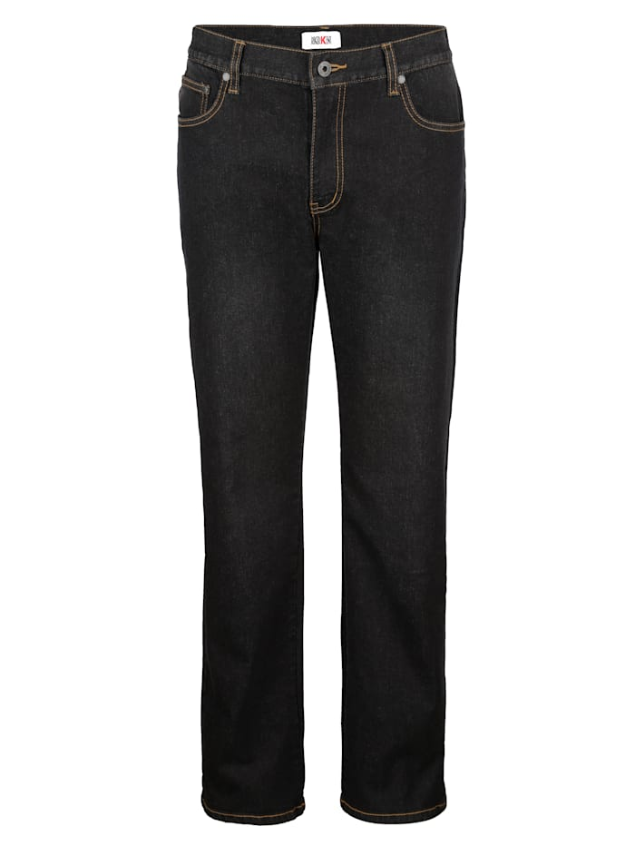 Roger Kent 5-Pocket Jeans mit Stretch, Black stone