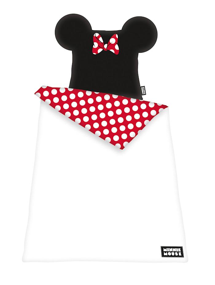 Herding Disney's Minnie Marken Bettwäsche, rot-weiß