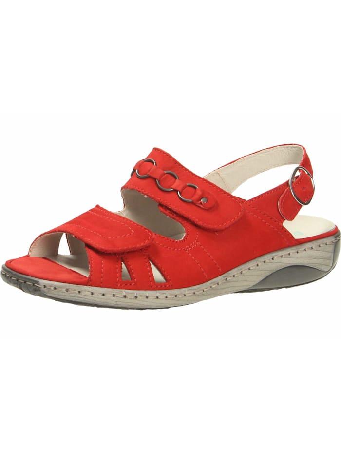 Waldläufer Sandalen/Sandaletten, rot