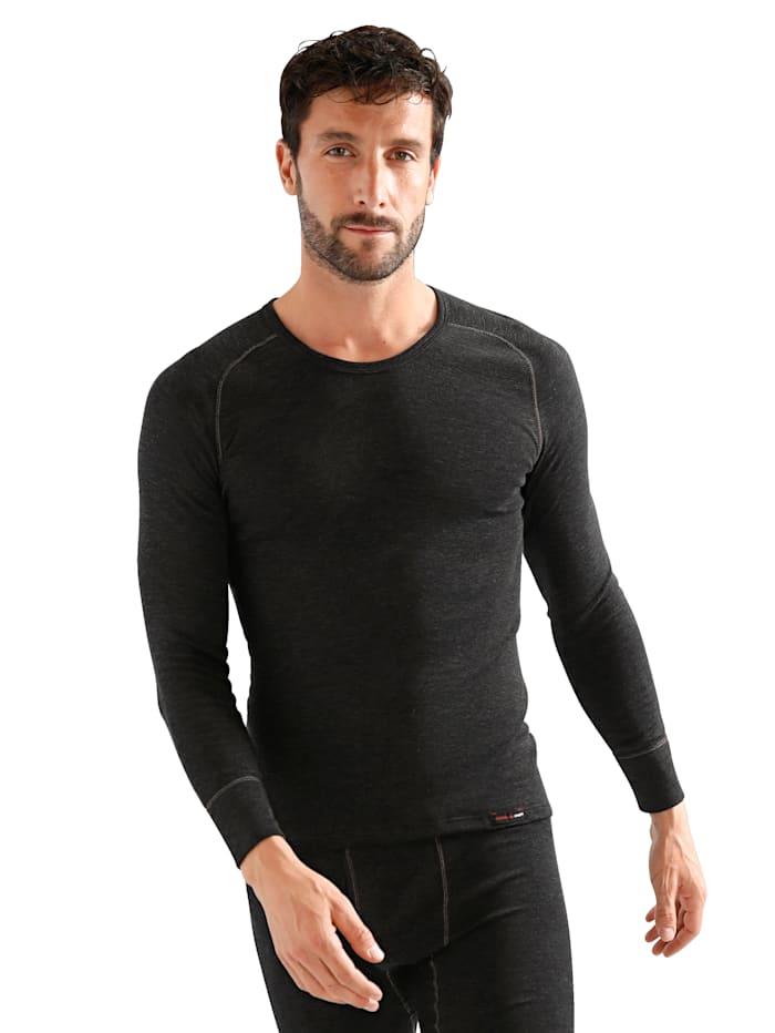 T-shirt à manches longues avec fonction thermique