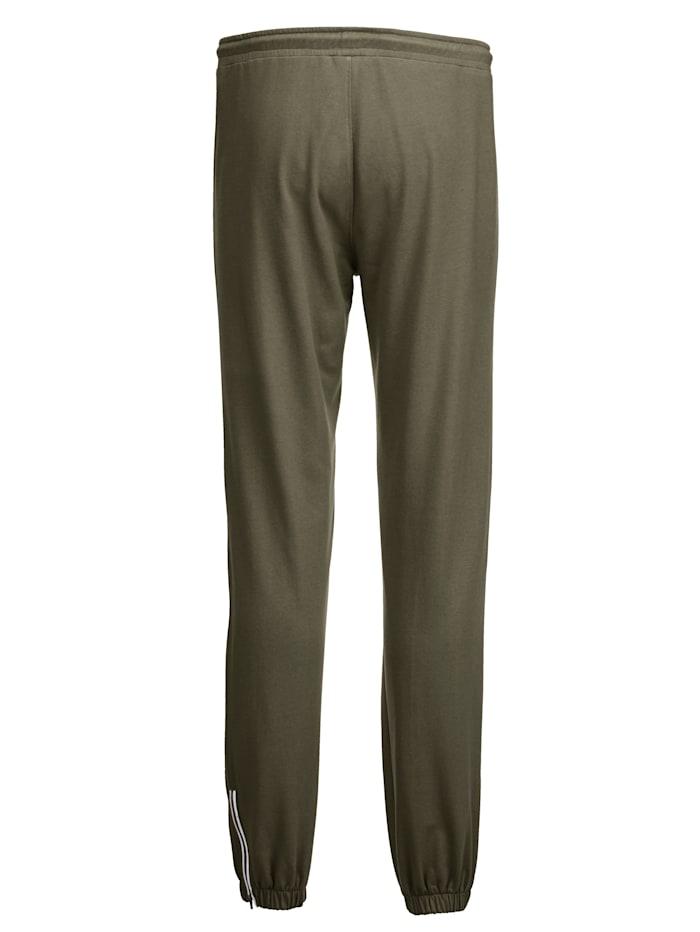 Pantalon de loisirs avec glissières côtés