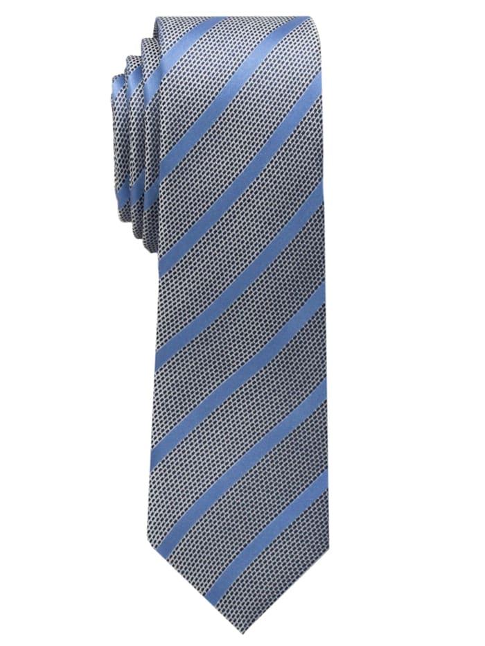 Eterna Eterna Krawatte schmal, blau