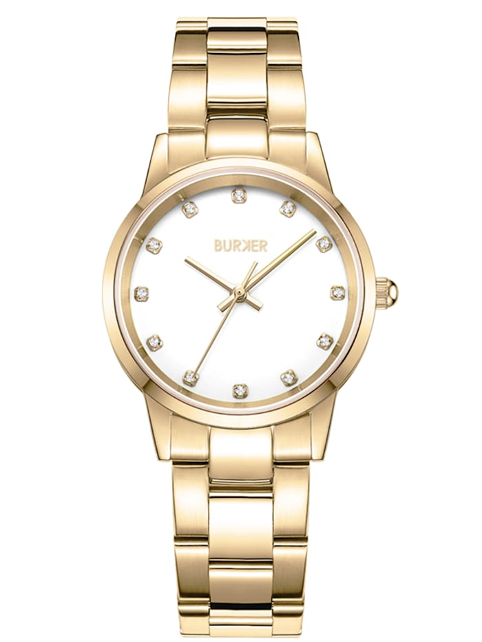 Burker Watches Uhr Amy Gold White, gold/white
