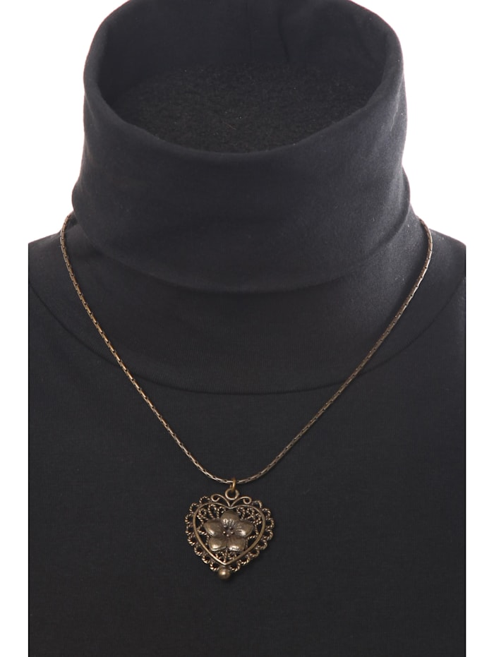 Trachtenkette Tora mit filigranen Herz