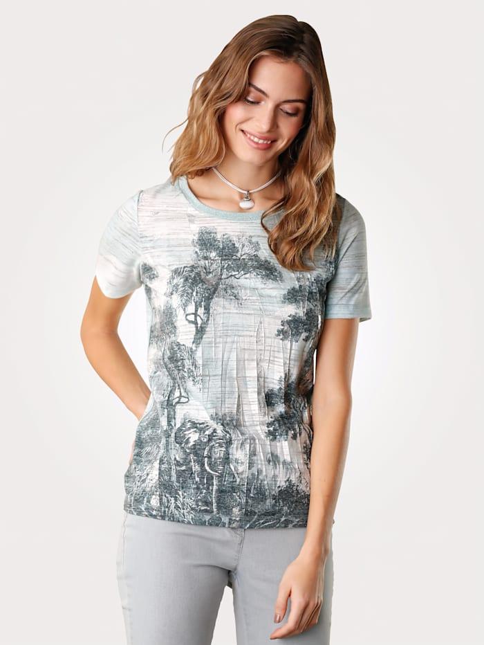 Shirt met junglemotief