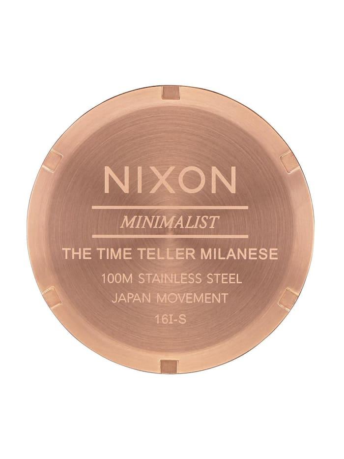 Nixon Damen-Uhren Analog Quarz