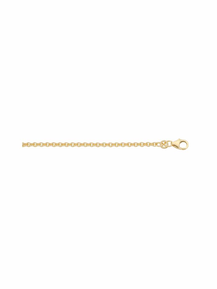 1001 Diamonds Damen Goldschmuck 333 Gold Anker Halskette, gold