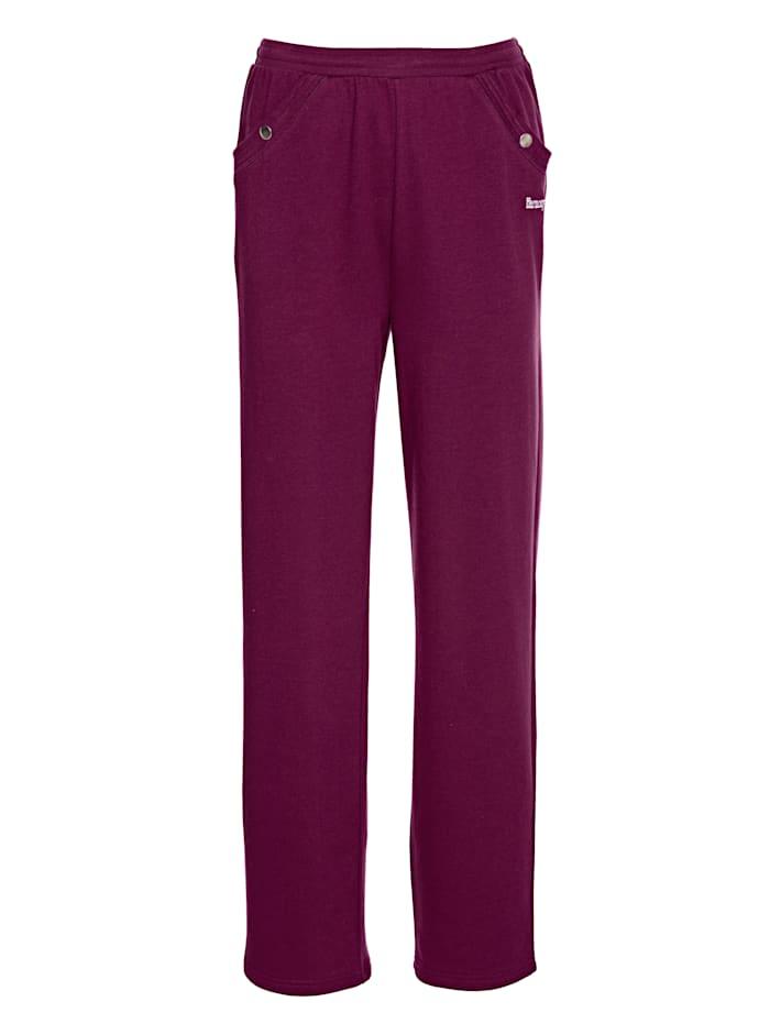 Harmony Pantalon de loisirs, Fuchsia