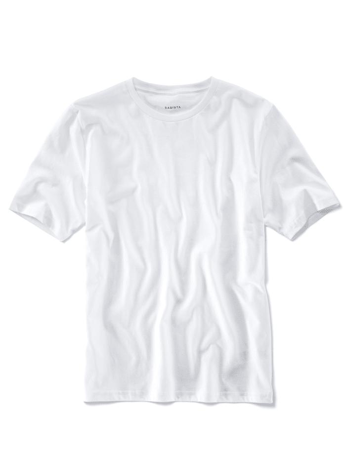 T-shirts per 2 stuks met ronde hals