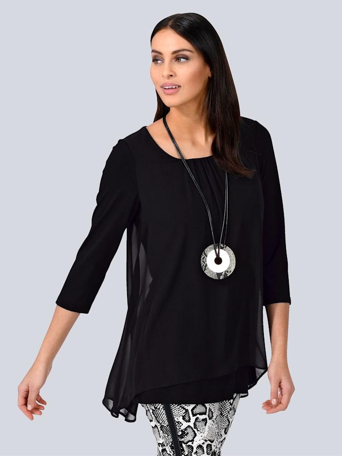 Alba Moda Shirt met print, Zwart