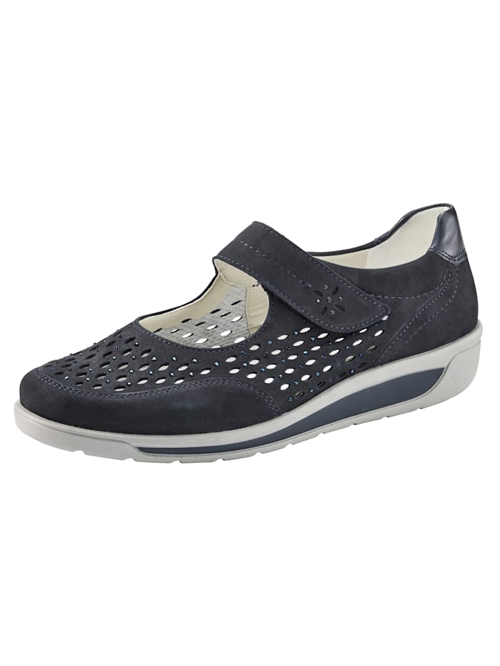 Ara Velcro shoes, Dark Blue