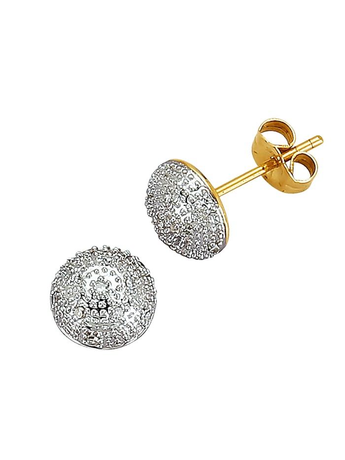 Boucles d'oreilles à diamants