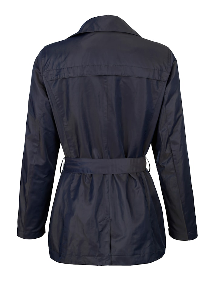Jacke mit doppelter Knopfreihe
