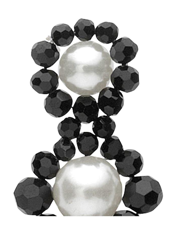 Boucles d'oreilles avec perle synthétique