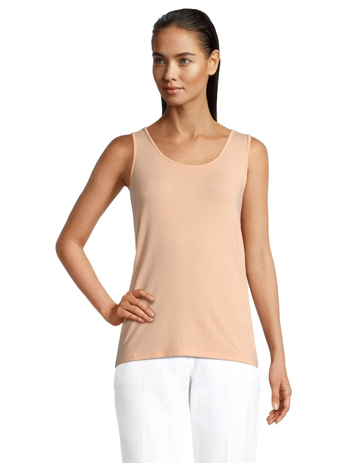 Betty & Co Basic Shirt ohne Arm, Prairie Sunset