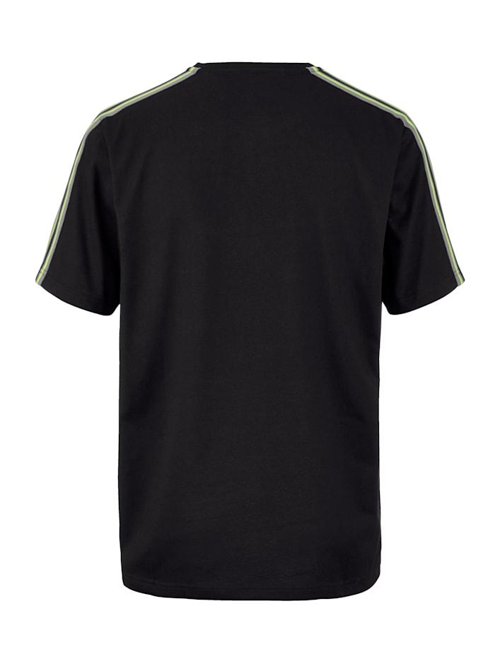 T-shirt fonctionnel en coton mélangé séchant rapidement
