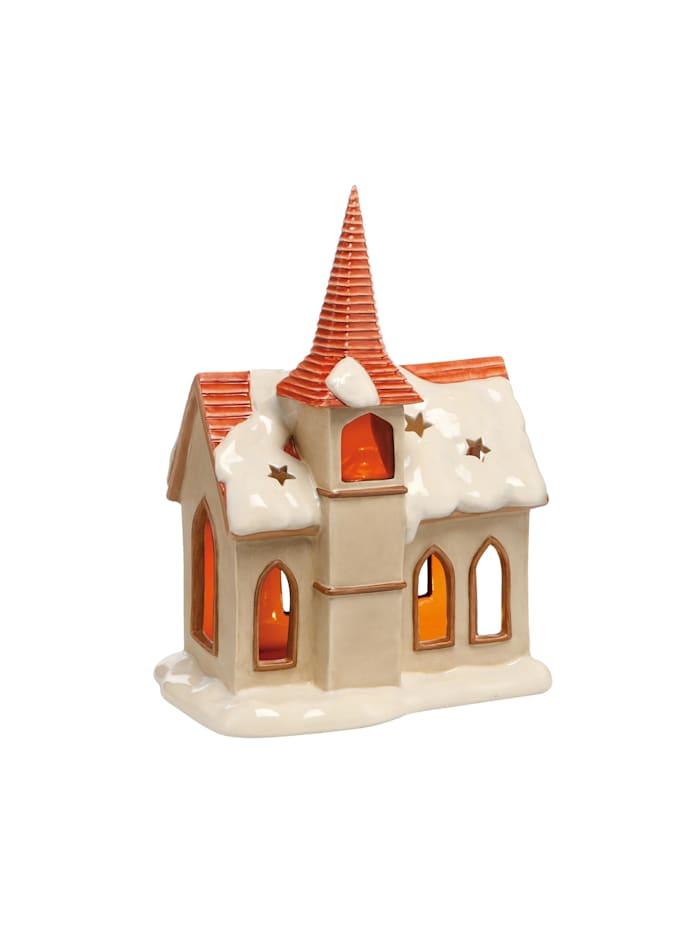 Goebel Goebel Figur Verschneite Kapelle, Bunt