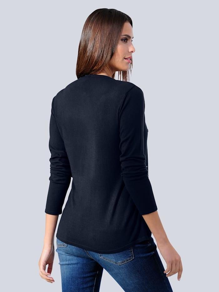 Pullover als 2-in-1 Optik