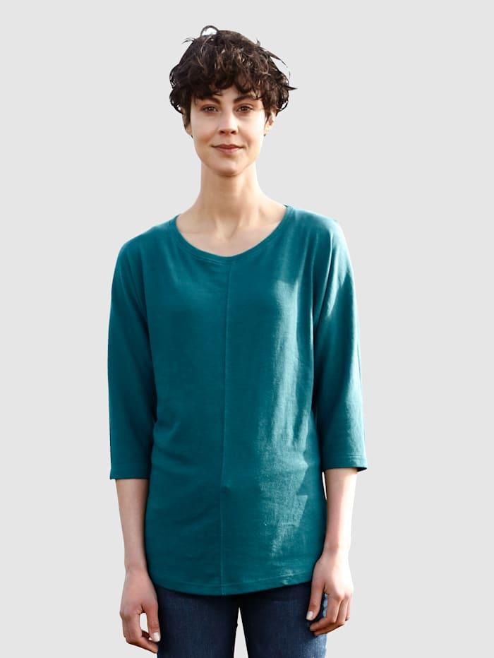 Dress In Tričko s deliacim šitím, Jedľová