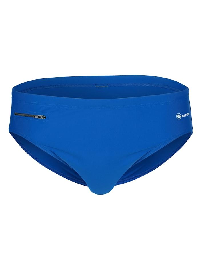 Maritim Badehose im klassisch sportlichen Design, Royalblau