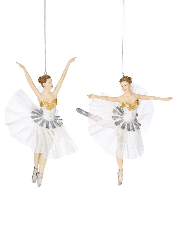 IMPRESSIONEN living Ballerina-Set, 2-tlg., weiß