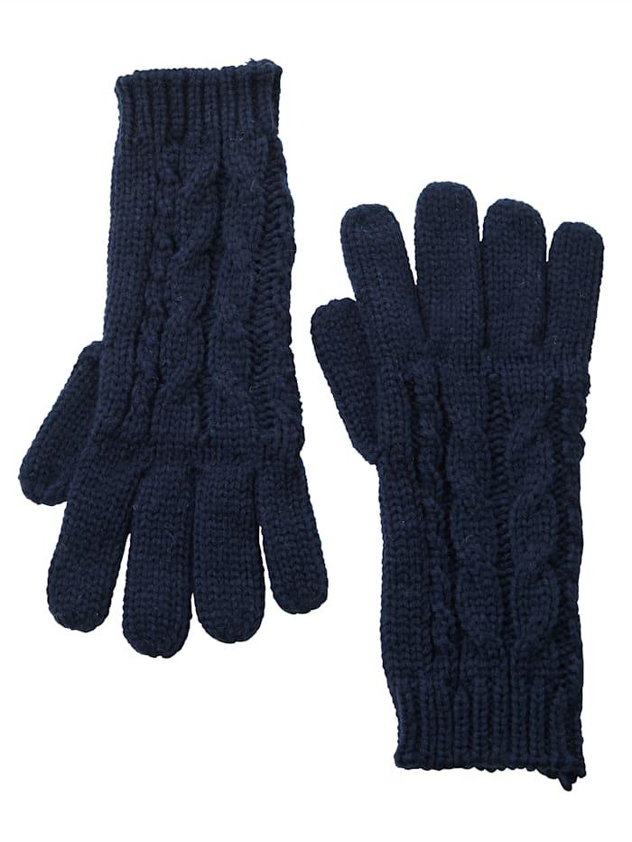 Handschoenen met kabelpatroon