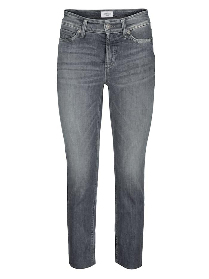 Jeans mit tollem Schmuckband