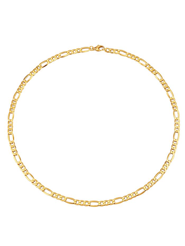 Figarokette in Gelbgold 585