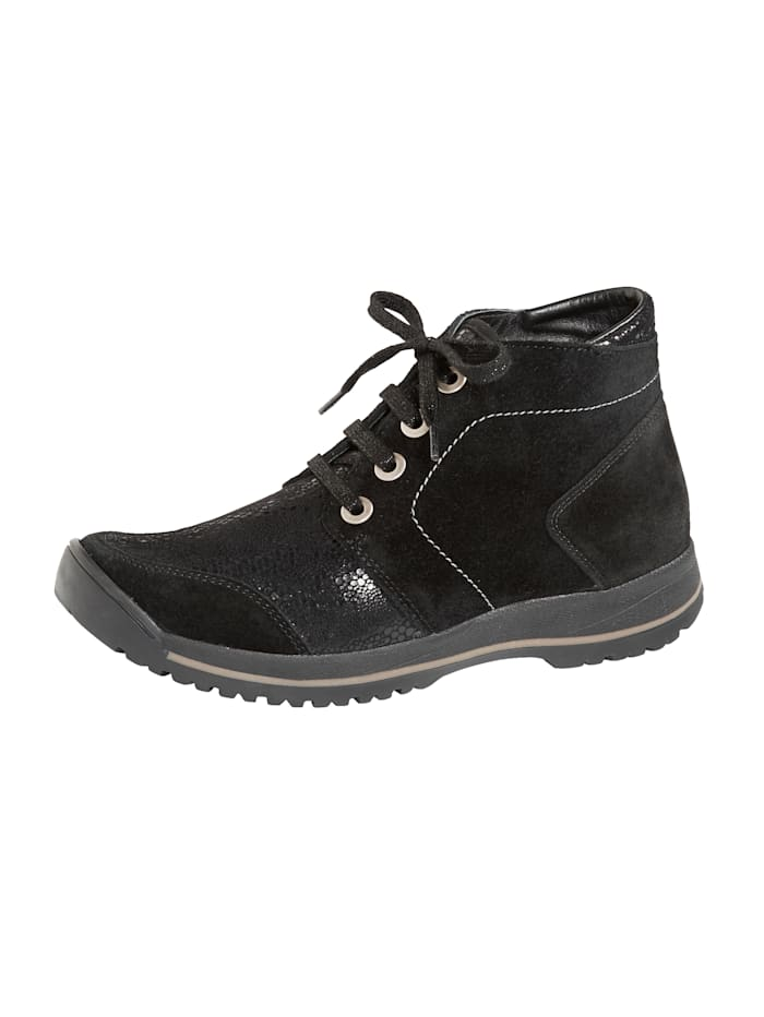 Varomed Boots lacées Idéales en cas de hallux valgus, Noir