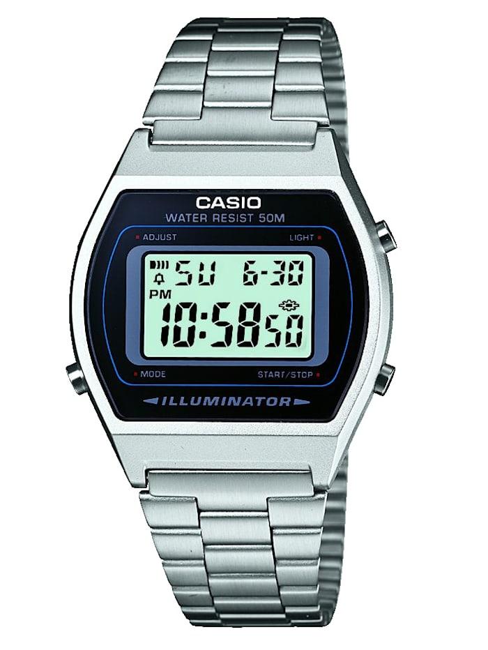 Casio Digitaluhr-Chronograph B640WD-1AVEF, Silberfarben