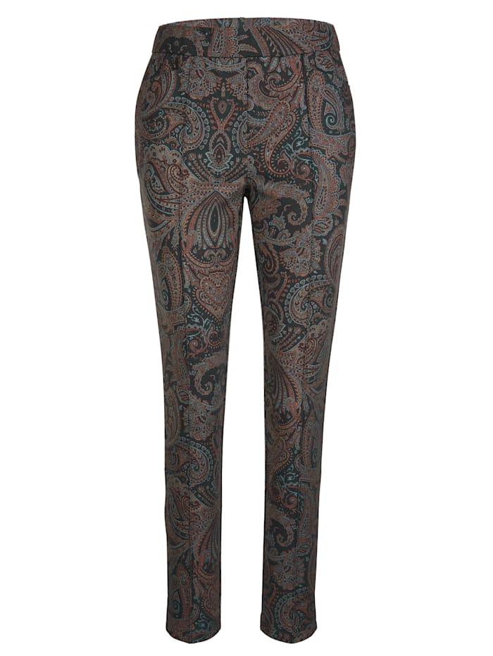 Pantalon à motif cachemire