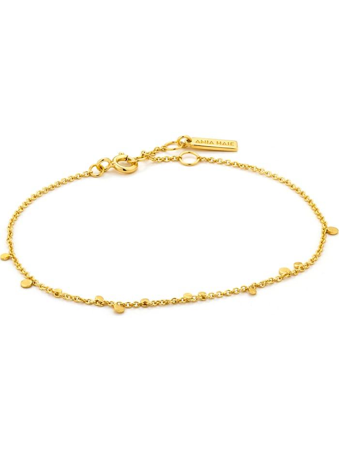 Ania Haie Ania Haie Damen-Armband Geometry Mixed Discs 925er Silber, gold