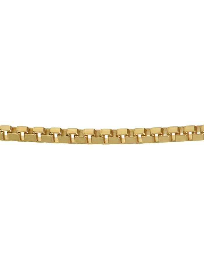 Halskette 333 Gold Venezia für Damen und Herren, Breite 1,2 mm