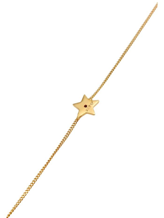 Armband Stern Star Kristalle 925 Silber