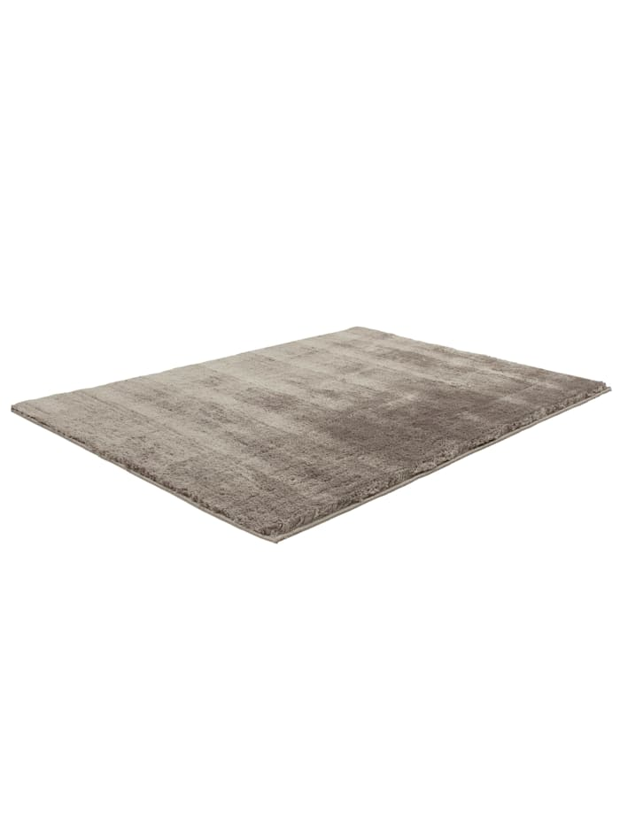 Cats Collection Langflor Teppich Shaggy hand tufted taupe, taupe