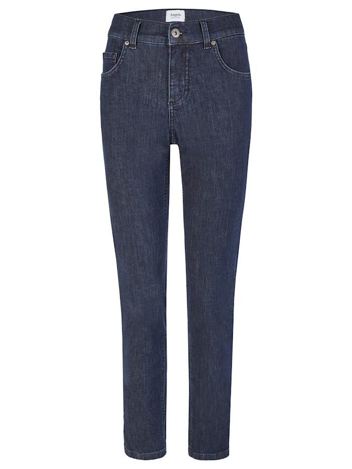 Angels Jeans ,Skinny' mit Five-Pocket-Design, dunkelblau