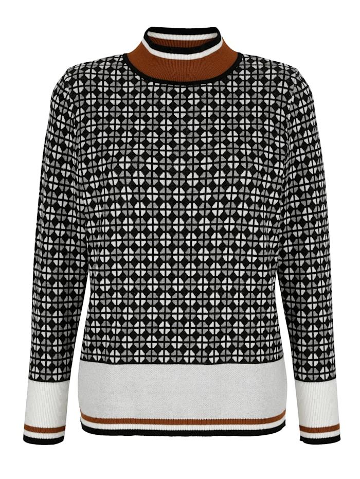 Pullover mit grafischem Jaquard