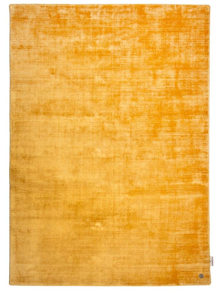 Tom Tailor Handarbeitteppich Shine Uni, Gelb