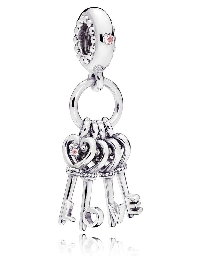 Pandora Charm-Anhänger - Schlüssel der Liebe - 797654NPMMX, Silberfarben