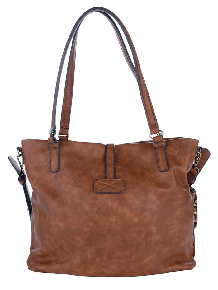 Handtasche mit praktischer Fächereinteilung