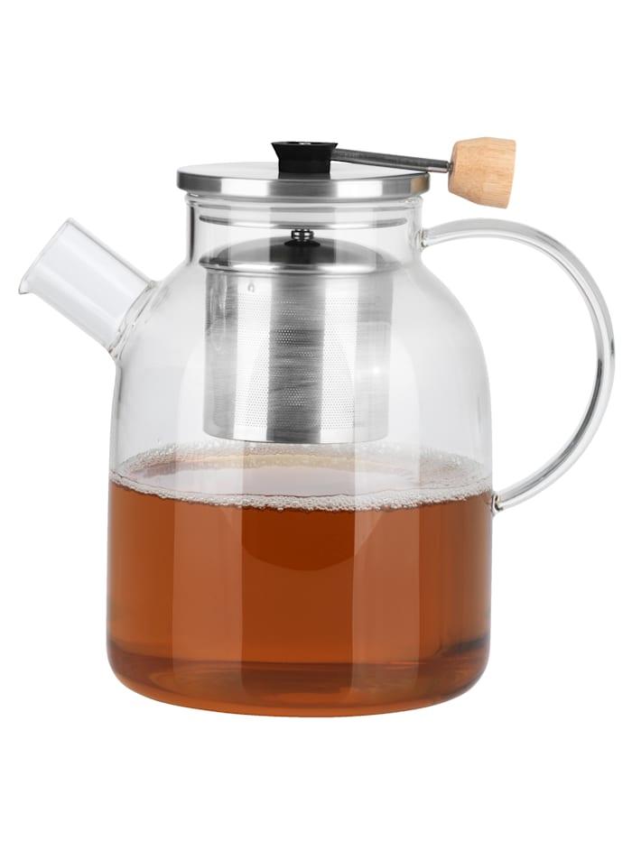 """BEEM Lasinen, sihdillinen teekannu """"Classic Selection"""", 1 litra, väritön"""