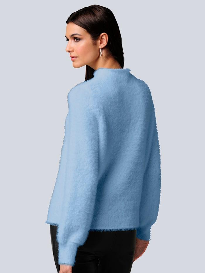 Pullover mit Flausch-Optik