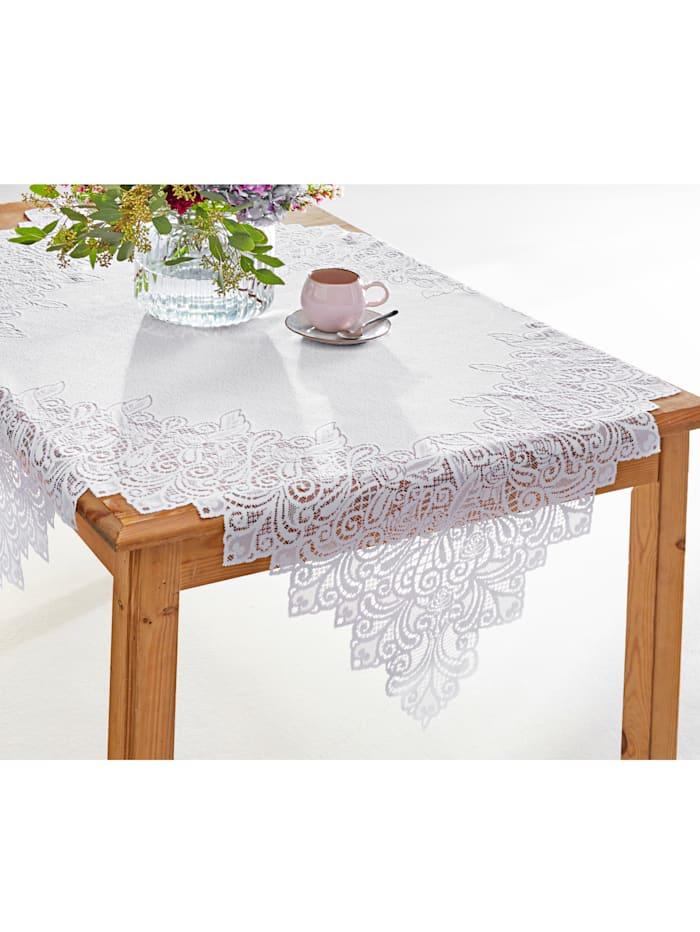 Linge de table dentelle