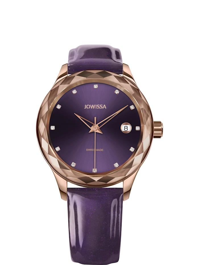 Jowissa Quarzuhr Tiro Swiss Ladies Watch, lila