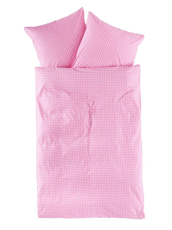 Florella 2-delige set bedlinnenHannah, roze
