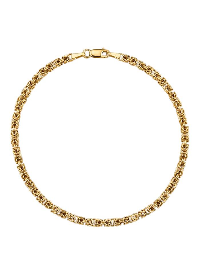 Amara Or Bracelet maille royale en or jaune 750, Coloris or jaune