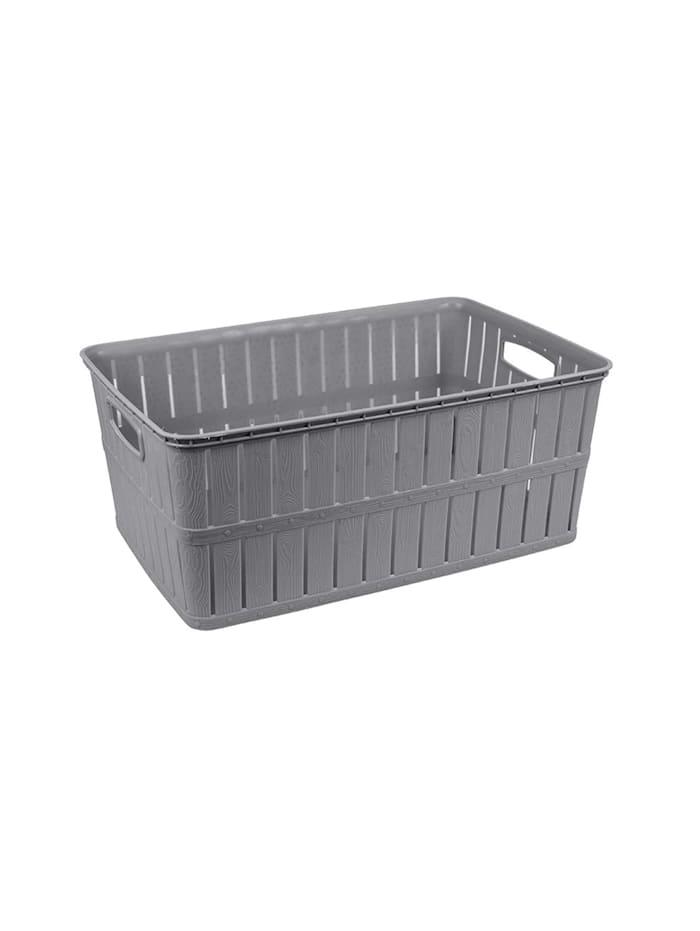 HTI-Living Wäschekorb 16 Liter, Grau
