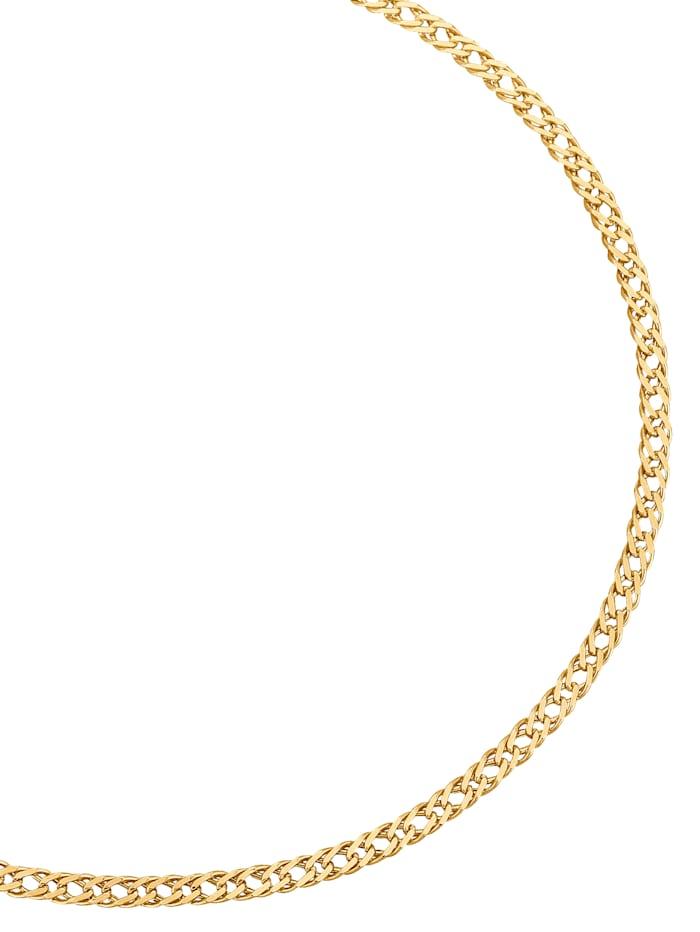 Halskette in Gelbgold, Gelb
