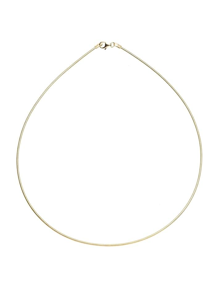 OSTSEE-SCHMUCK Halsreif - Omega 1,4 mm - Gold 585/000 - ,, gold